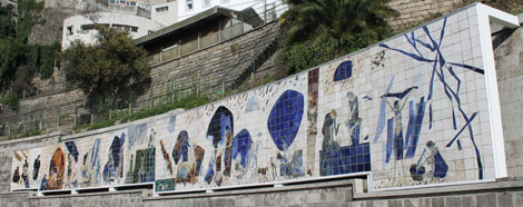 """Ribeira Negra"" panel"